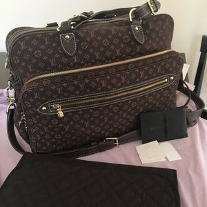 Gently Used Louis Vuitton Diaper Bag